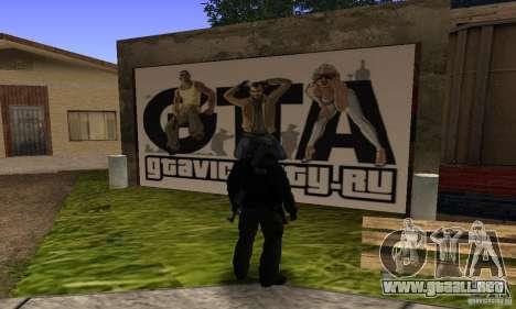 Grove Street v1.0 para GTA San Andreas tercera pantalla