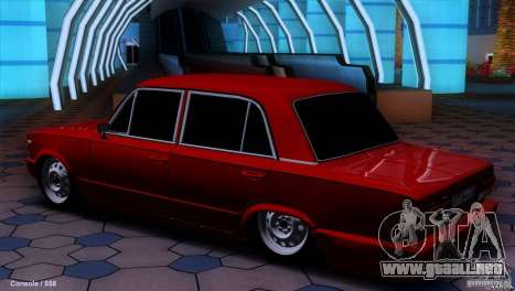 VAZ 2107 coches tuning para GTA San Andreas left