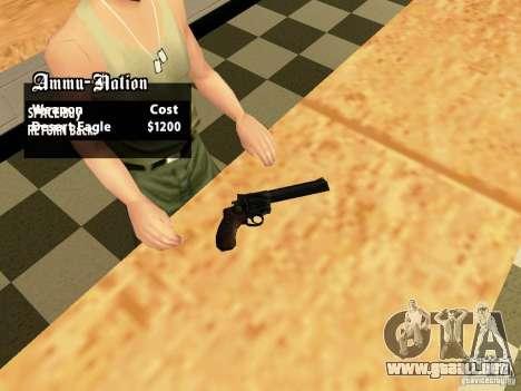44.Magnum para GTA San Andreas segunda pantalla