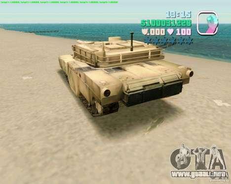 M 1 A2 Abrams para la visión correcta GTA San Andreas