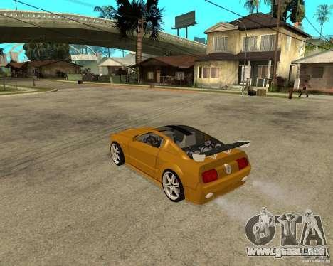 Ford Mustang GT 2005 Concept JVT LORD TUNING para GTA San Andreas left