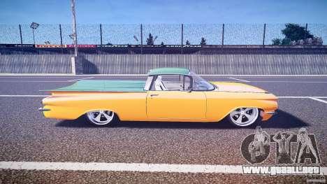 Chevrolet El Camino Custom 1959 para GTA 4 vista interior