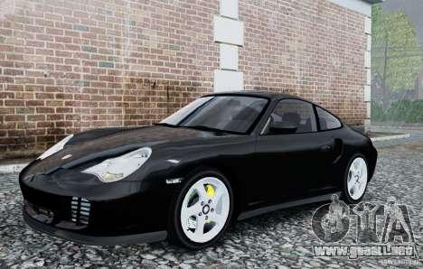 Porsche 911 Turbo S para GTA 4 left