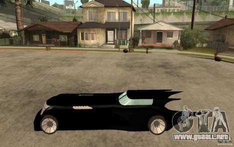 Batmobile Tas v 1.5 para GTA San Andreas left