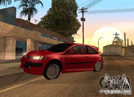 Renault Megane Sport Custom para la visión correcta GTA San Andreas