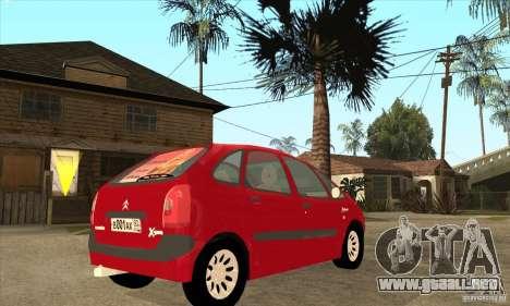 Citroen Xsara Picasso para la visión correcta GTA San Andreas