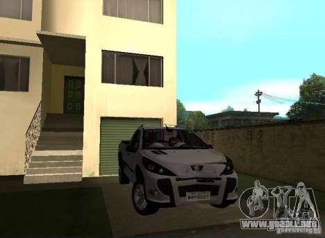 Peugeot Hoggar Escapade 2010 para la visión correcta GTA San Andreas