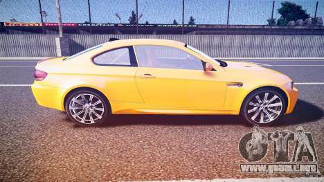 BMW M3 E92 para GTA 4 vista interior