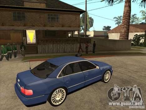 Audi A8 para la visión correcta GTA San Andreas