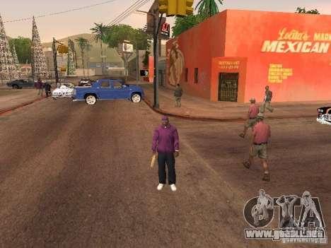 Ballas 4 Life para GTA San Andreas novena de pantalla
