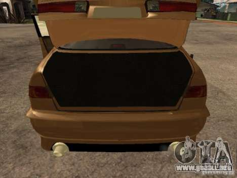Toyota Camry 2002 TRD para GTA San Andreas vista hacia atrás