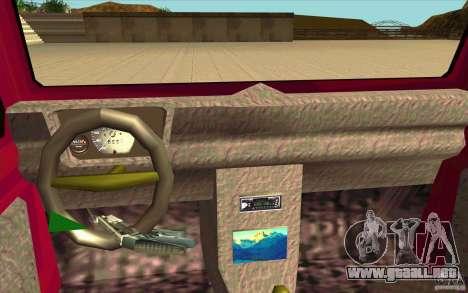 Land Rover Defender 90SW para la visión correcta GTA San Andreas