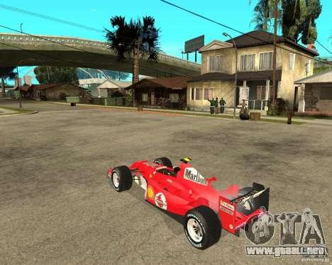 Ferrari F1 para GTA San Andreas left
