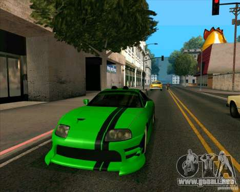 Toyota Supra NFS Most Wanted para GTA San Andreas