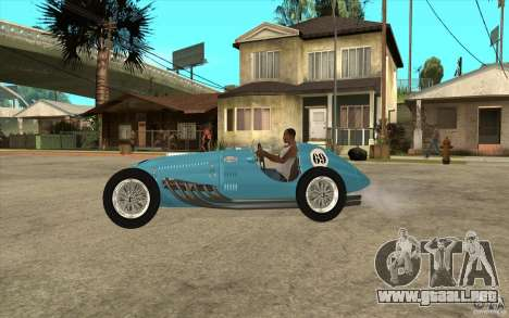 Talbot Lago T26C 1949 para GTA San Andreas left