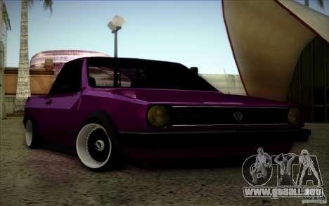 Volkswagen Polo Pickup para visión interna GTA San Andreas