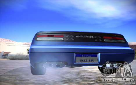 Nissan 300ZX Twin Turbo para visión interna GTA San Andreas