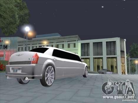 Chrysler 300C Limo para la visión correcta GTA San Andreas