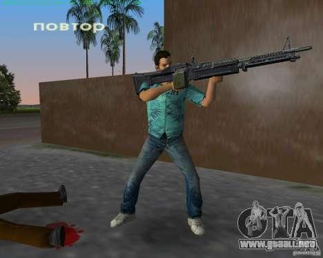 La nueva M-60 para GTA Vice City