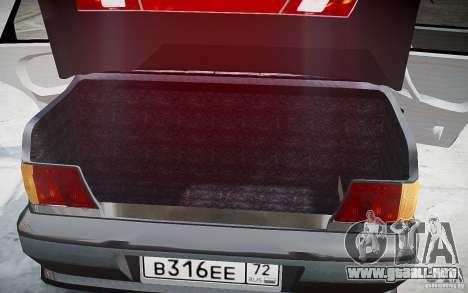 VAZ 2115 v1.0 para GTA 4 interior