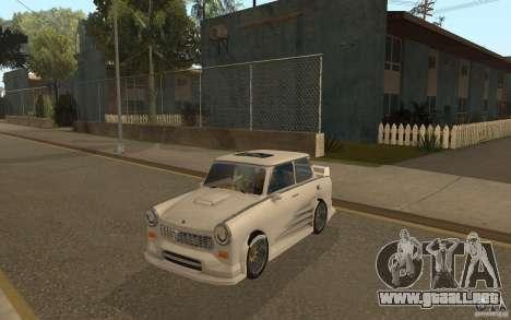 Trabant 601S Tuning para GTA San Andreas