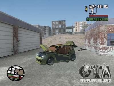 1111 OKA (tuning) para vista inferior GTA San Andreas