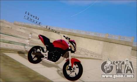 Honda CB600F Hornet 2012 para GTA San Andreas left