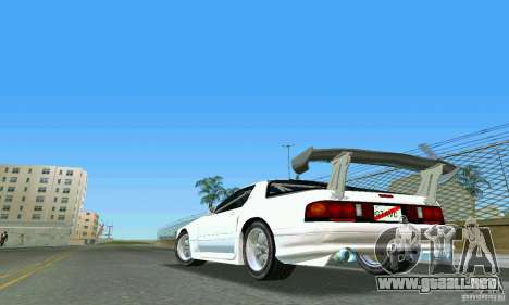 Mazda Savanna RX-7 FC3S para GTA Vice City left