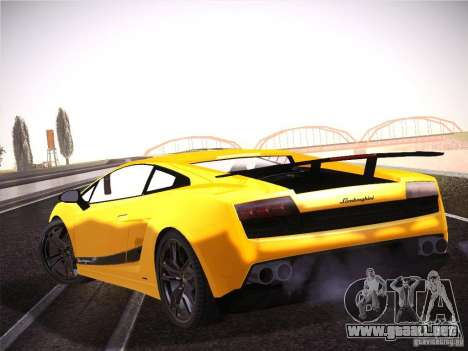 Orange ENB by NF v1 para GTA San Andreas tercera pantalla