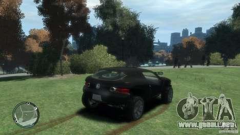 Volkswagen Concept para GTA 4 Vista posterior izquierda