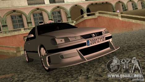 Peugeot 406 Taxi 2 para GTA Vice City left