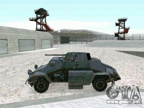 Vehículo blindado de juego tras las líneas enemi para la visión correcta GTA San Andreas
