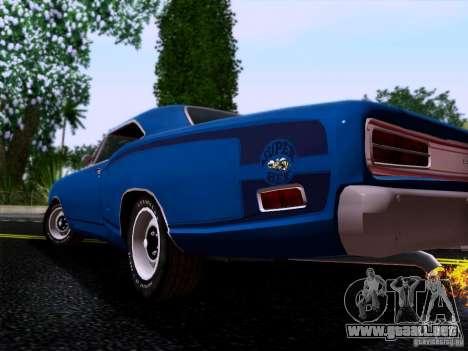 Dodge Coronet Super Bee v2 para la visión correcta GTA San Andreas