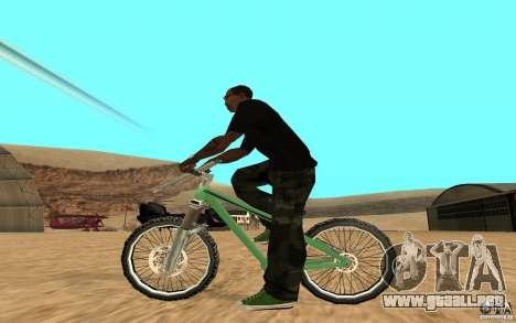 Dirt Jump Bike para GTA San Andreas