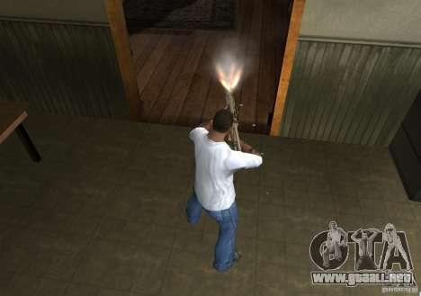 KAC PDW para GTA San Andreas quinta pantalla