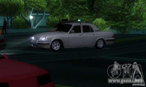 GAZ 31105 Volga abogado para visión interna GTA San Andreas