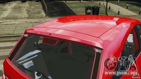 Chevrolet Agile para GTA 4 interior