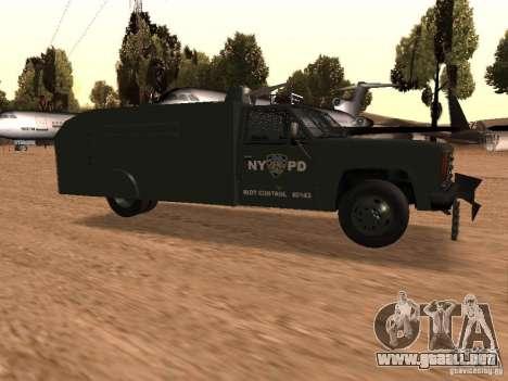 GMC SIERRA 3500 para la visión correcta GTA San Andreas