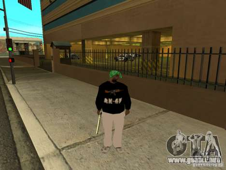 Nueva ranura gruesa para GTA San Andreas sucesivamente de pantalla