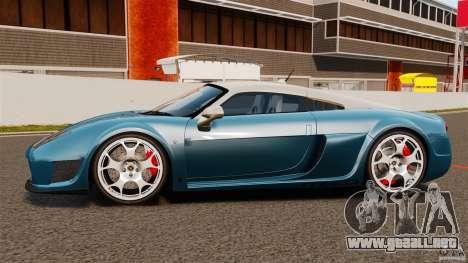 Noble M600 Bicolore 2010 para GTA 4 left