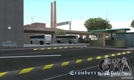 BUSmod para GTA San Andreas sucesivamente de pantalla