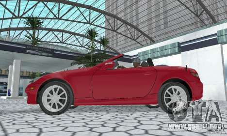 Mercedes-Benz SLK 350 para la visión correcta GTA San Andreas