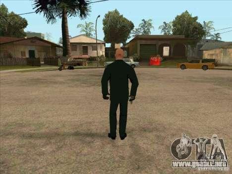 Hitman: Codename 47 para GTA San Andreas tercera pantalla