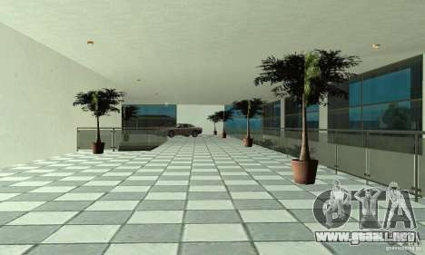 Mercedes Showroom v.1.0 (Autocentre) para GTA San Andreas quinta pantalla