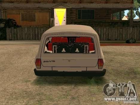Volga GAZ 310221 para la visión correcta GTA San Andreas