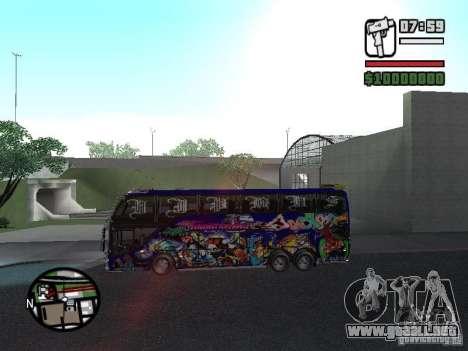 Neoplan para GTA San Andreas vista posterior izquierda
