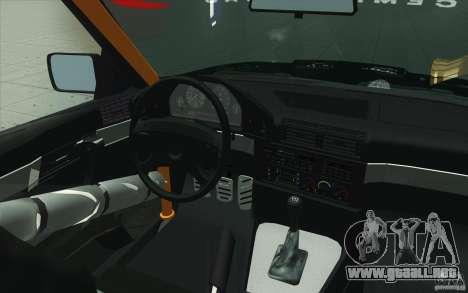 BMW E34 V8 Wide Body para la vista superior GTA San Andreas