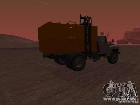 Camión ZIL 431410 para GTA San Andreas left