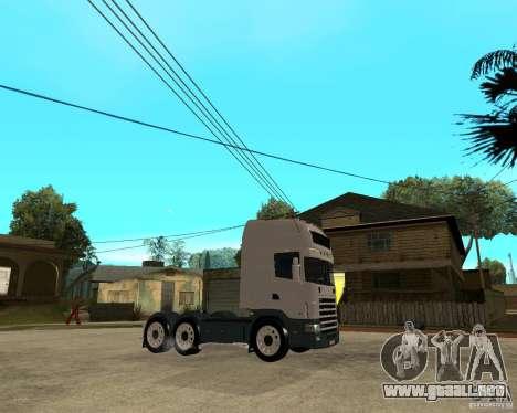 Scania 164L 580 para la visión correcta GTA San Andreas