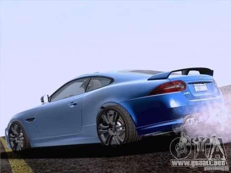Jaguar XKR-S 2011 V2.0 para GTA San Andreas left
